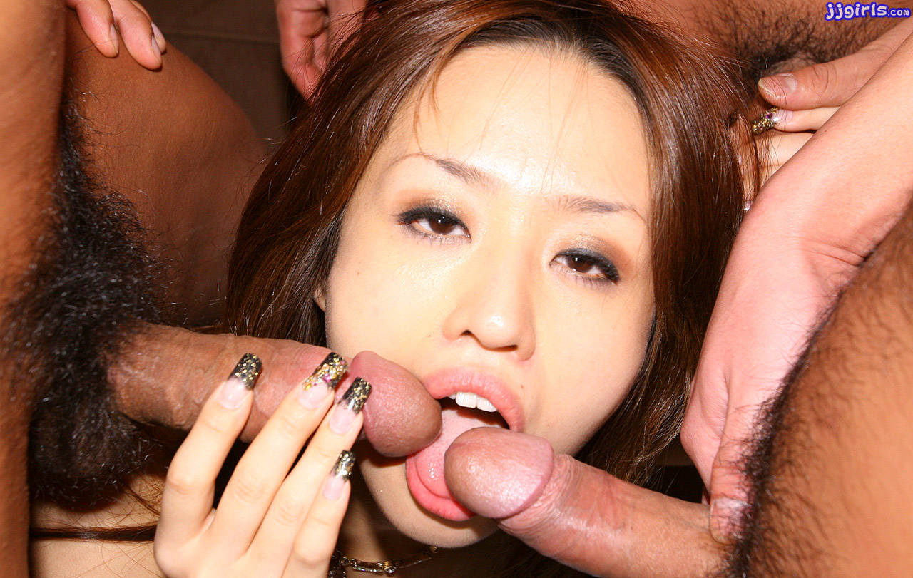Минет японки делают