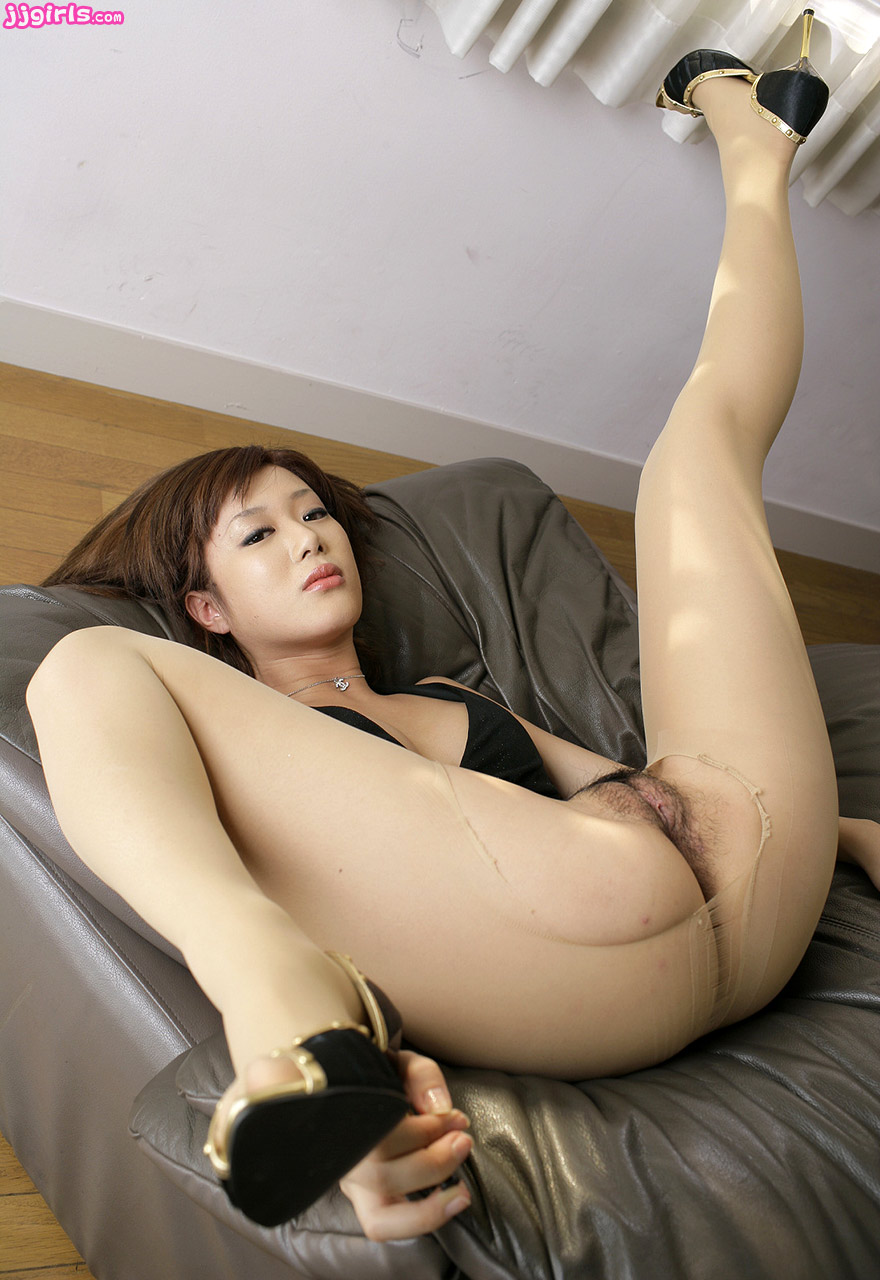 Japanese models nylons nude — pic 1